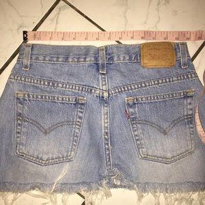 Levi's Skirts - Vintage Levi's denim mini skirt